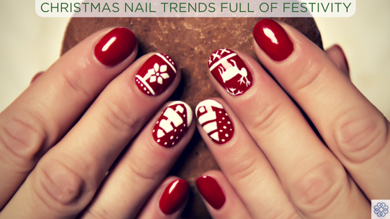 Christmas Nail Trends Full of Festivity | Bellezza Spa